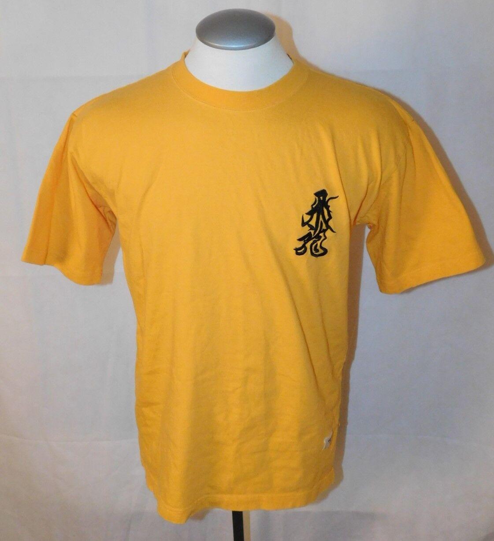 Vtg Valentino Orlandi Osuwa Daiko Embroidered T-Shirt sz 3L Rare OOAK