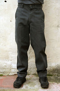 Marlboro Classics Chino Mens Dark Grey Denim Flax Jeans Slim Fit It