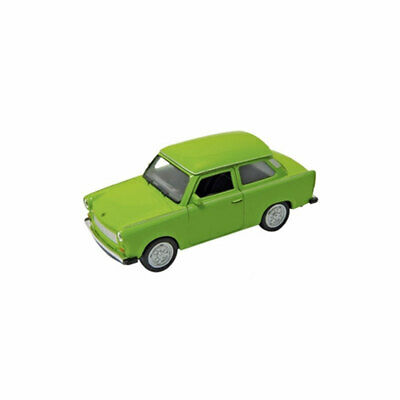 ° Nex 12208 Trabant 601 Green with Pullback Motor Scale Approx 1:43 New