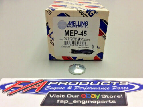"""Melling MEP-45 Steel 11//16/"""" Engine Freeze Out Expansion Convex Disc Type Plugs"""