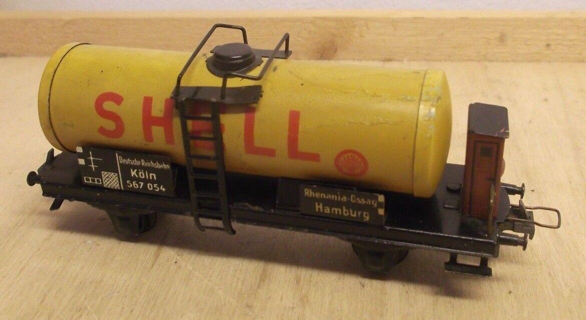 RARE TRIX Express H0 2078 Tank Wagon Rhenania - OSSAG Hamburg Dr Cologne 567 054