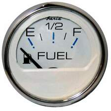 Black 2 Inch Faria Boat Fuel Gauge GPC929AEuro Series White