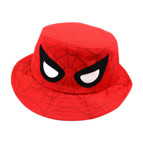 Kinder Jungen Spiderman Mütze Basecap Kappe Baseball Cap Eimer Hüte Fischermütze