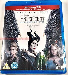 Maleficent Mistress Of Evil 2019 Brand New 3d 2d Blu Ray Movie Region Free Ebay