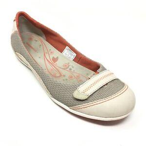 Samla löv jag är stolt Varning  Women's Merrell Allegro Ballet Flats Shoe Size 7M Taupe Orange ...