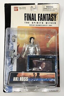 FINAL FANTASY THE SPIRITS WITHIN DR. AKI ROSS 12 FIGURE