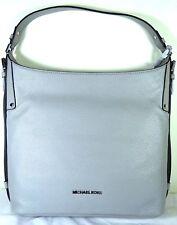 531eea4b5e66 Michael Kors Bedford Quarry Grey Belted Large Leather Shoulder Bag Purse