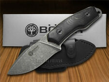 BOKER ARBOLITO Black Micarta El Heroe Fixed Blade Stainless Knives Knife