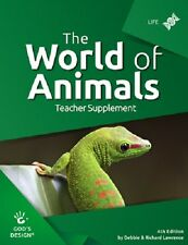 World of Animals Teacher Supplement (God's Design for Life) 4th Ed NEW
