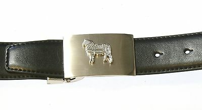 Butcher Sheep Belt And Metal Buckle Ideal Butchers/farming Gift 050