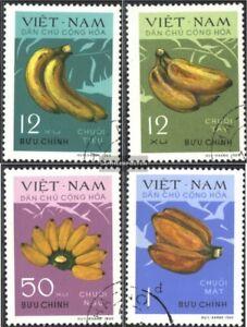 Vietnam-634-637-kompl-Ausg-gestempelt-1970-Bananen