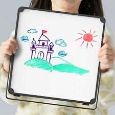 New Listingportable Mini White Board Dry Erase Board With Stand Small Desktop Dry Erase