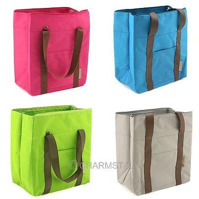 Picnic Lunch Brunch Waterproof Dry Bag Cool Storage TravelersTote Shoulder Bag