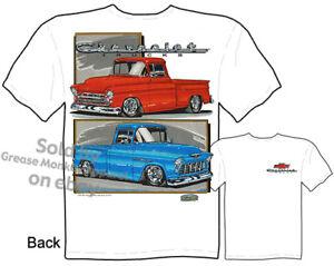 55 Chevy T Shirt 1955 Chevrolet Clothing Automotive Shirts Classic Car Shirt Tee