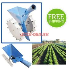 PRECISION MANUAL GARDEN HOME SEED SEEDER HAND ROW MANUAL STEEL VEGETABLE SEEDS
