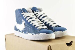 Nike Blazer High Court Blue/White