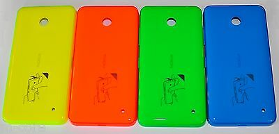 Nokia Lumia 630 635 back battery cover Blue Green Orange Yellow White Black