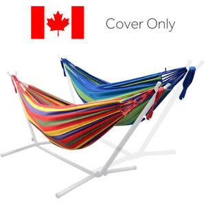 LVINGbasics™ 9Ft Double Hammock for Travel Beach Yard Outdoor Camping Hammock