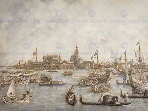 CANALETTO-ITALIAN-ASCENSION-DAY-FESTIVAL-VENICE-ART-PAINTING-POSTER-BB5050B