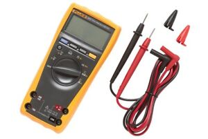Details about Fluke 177 True RMS Digital Multimeter with backlight