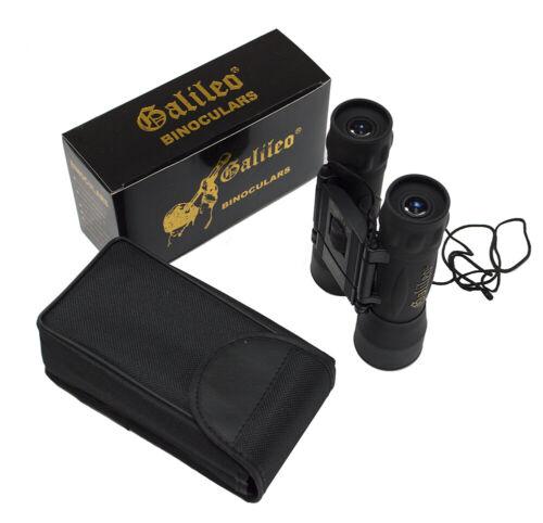 Galileo 12x32 compact roof prism binoculars for bird watching /& general purpose