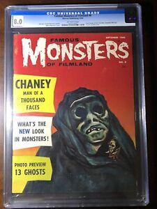 Famous-Monsters-of-Filmland-8-1960-Warren-Pub-CGC-8-0-Rare-High-Grade
