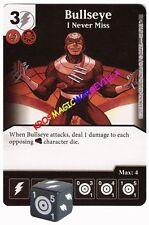 036 BULLSEYE: I Never Miss -Common- CIVIL WAR Marvel Dice Masters