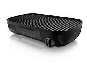 PHILIPS-Daily-Collection-HD6321-20-Tischgrill-2000W-gerippte-Grillplatte
