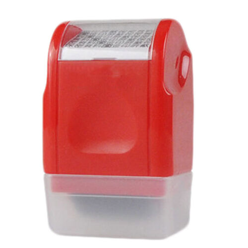 Identity Anti-Theft Protection Stamp Seal Code Roller Self Guard ID Security