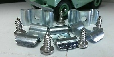 Brake Pipe Line Chassis Saddle Clamp Clip 538768 x5 Land Rover Series 1 2 2a 3