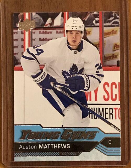2016-17 Upper Deck Young Guns Auston Matthews Rookie #201 Toronto Maple Leafs RC
