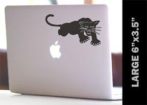 2 Pcs Black Panther Vinyl Sticker Art Decals for Car Bumper Macbook Laptop Ipad