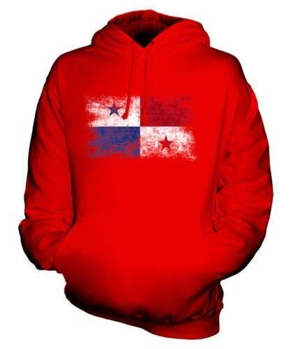 Panama Distressed Flagge Unisex Kapuzenpulli Top Panama Fußball Panama Geschenk