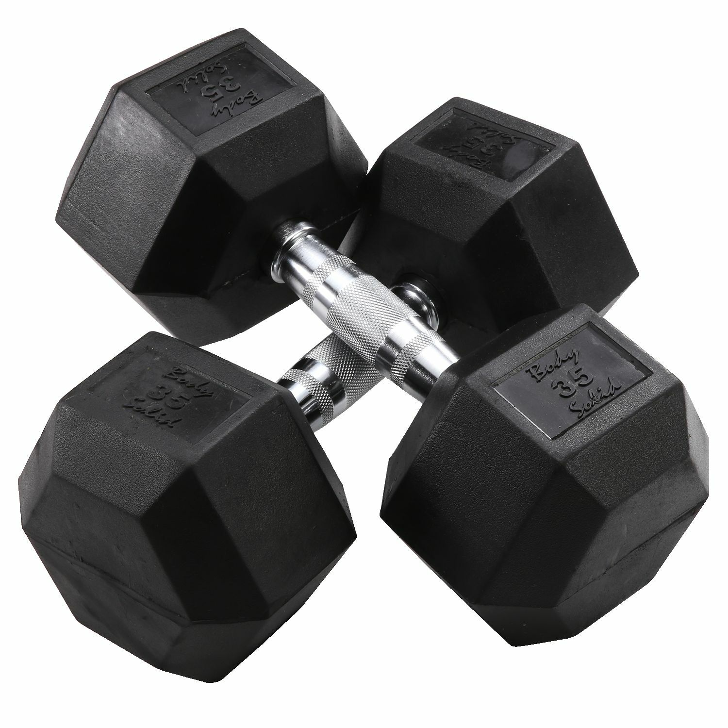 35 lb.  Rubber Coated Dumbbell Pair, Body-Solid SDR35  incentive promotionals