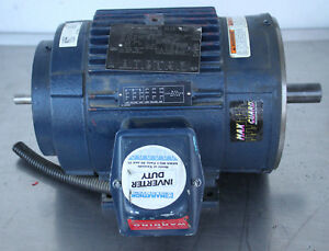 Image Is Loading Regal Beloit Marathon 182thts8028 Bluemax Electric Motor 3hp