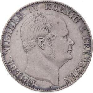 Preußen - Ausbeutetaler 1858 A - Bremen, Deutschland - Preußen - Ausbeutetaler 1858 A - Bremen, Deutschland