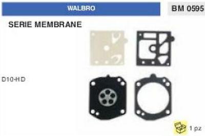 D 10 SDC KIT SERIE MEMBRANE membrana CARBURATORE WALBRO D10-SDC