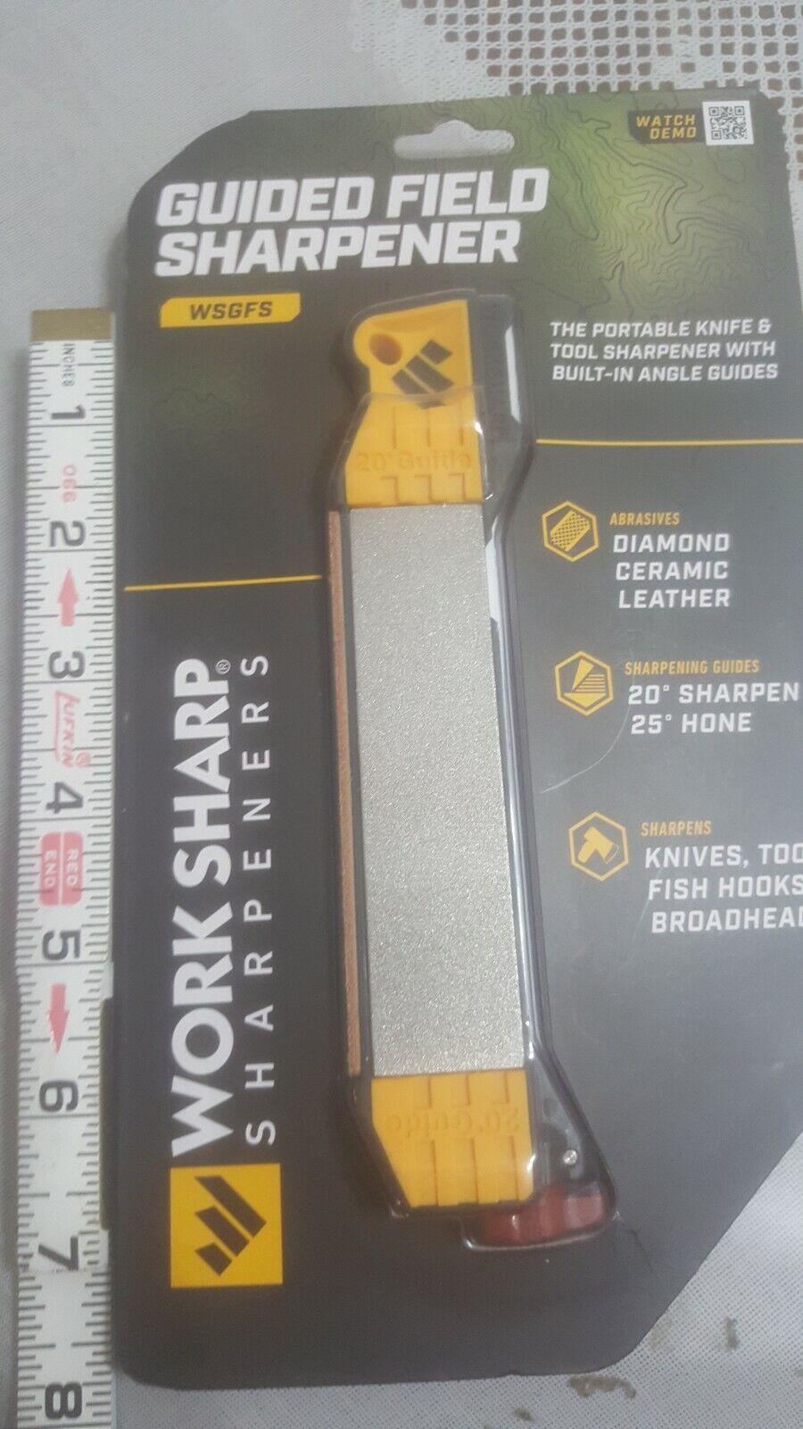 Work Sharp WSGFS221 Guided Field Sharpener for sale online