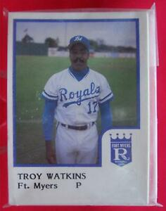 FORT-MYERS-ROYALS-1986-PROCARDS-TEAM-SET-FT-MYERS-TUFF-TO-FIND