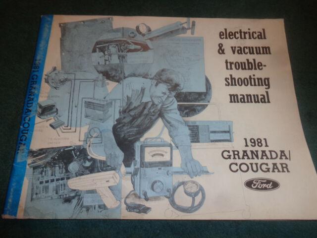 1981 Ford Granada    Mercury Cougar    Wiring  U0026 Vacuum