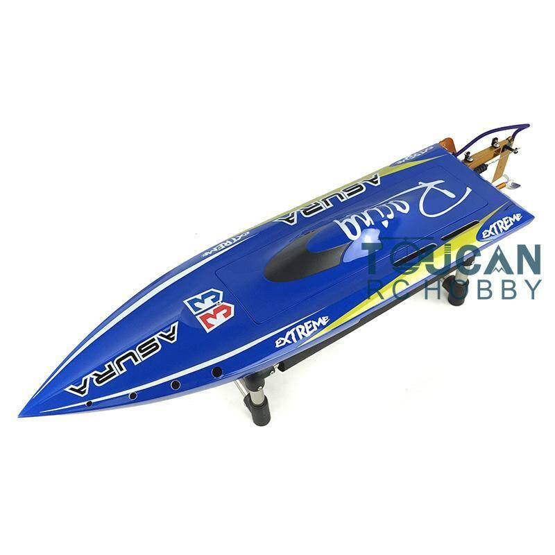 DT RC Electric Boat H750 RTR W Brushless Motor Telecontrol  ESC Motor Coloreeosso  negozio all'ingrosso