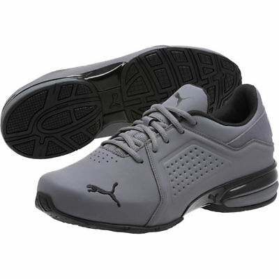8a2527908c5 Details about New Mens Puma Viz Runner men's running shoes grey black  191037-04 NEW IN BOX
