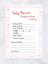 ☆ Baby Shower Prediction Game /& Advice Cards ♡ 10 20 Cards ☆ Pink Or Blue ☆