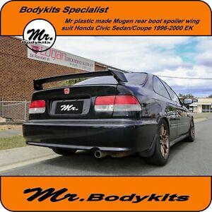 Mr-Mugen-Plastic-Rear-Boot-Spoiler-Wing-Honda-Civic-1996-2000-EK-Sedan-Coupe