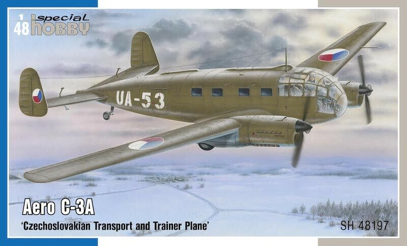Special Hobby 1 48 Model Kit 48197 Aero C-3A 'Czechoslovakian Transport