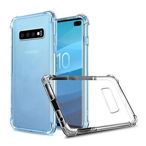 Schutzhuelle-fuer-Samsung-Galaxy-s10-s10e-Plus-Ultra-Slim-Stossfeste-Silikon-Clear-Cover