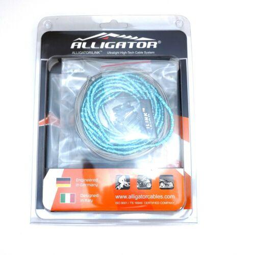 Bianchi Green Color Mini Alligator I-Link 4MM Bike Shift Cable Set 31 strand