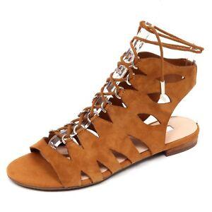 4d357bbe8910b Image is loading D2674-sandalo-donna-cuoio-GUESS-scarpe-shoe-woman