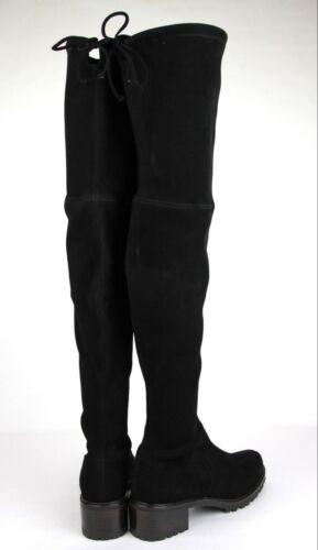 587078052c0 5 of 10  835 New Stuart Weitzman Black Suede Vanland Over-The-Knee Boot
