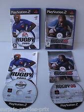 Lote de 2 JUEGOS RUGBY 2005 Y 2006 Playstation 2 - PS2